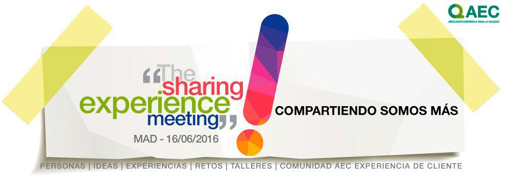 The Sharing Experience Meeting